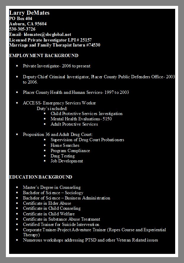 Marriage Family Therapist Intern Resume Aba Resume Objective Summer  Internship Cover Letter Engineering Aba Resume Objective